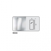 Зеркало для ванной комнаты Colombo GALLERY арт. В2040