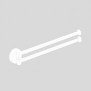 Двойной полотенцедержатель Colombo PLUS арт. W4913 BM